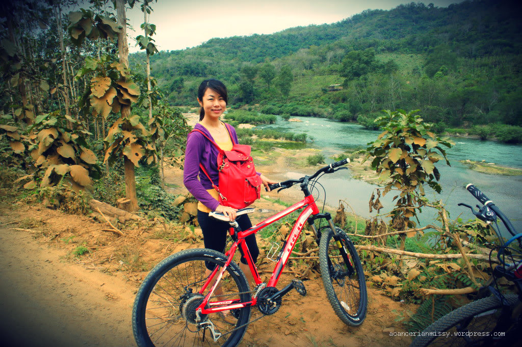 Luang Phrabang - Biking and Elephant Riding Combination